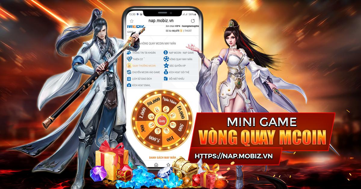 MINI GAME VÒNG QUAY MCOIN