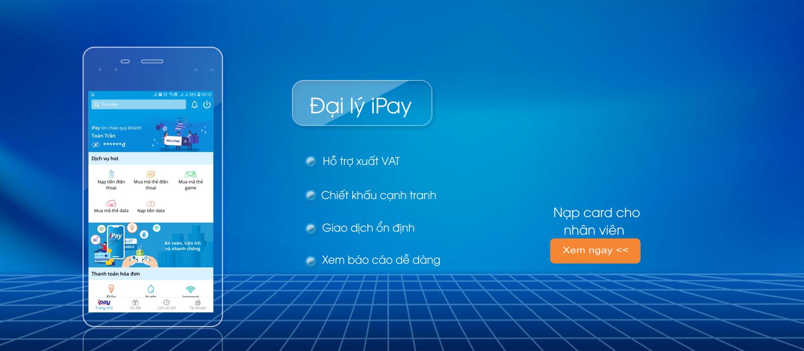 Hướng dẫn mua thẻ game từ IPAY.VN